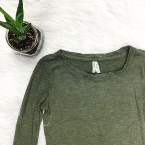 {Mudd} Super Soft Green Sweater